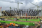 The 2012 Olympic Stadium, 3 months ahead of schedule