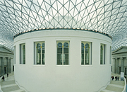 The Great Court of the British Museum - the largest covered square in Europe